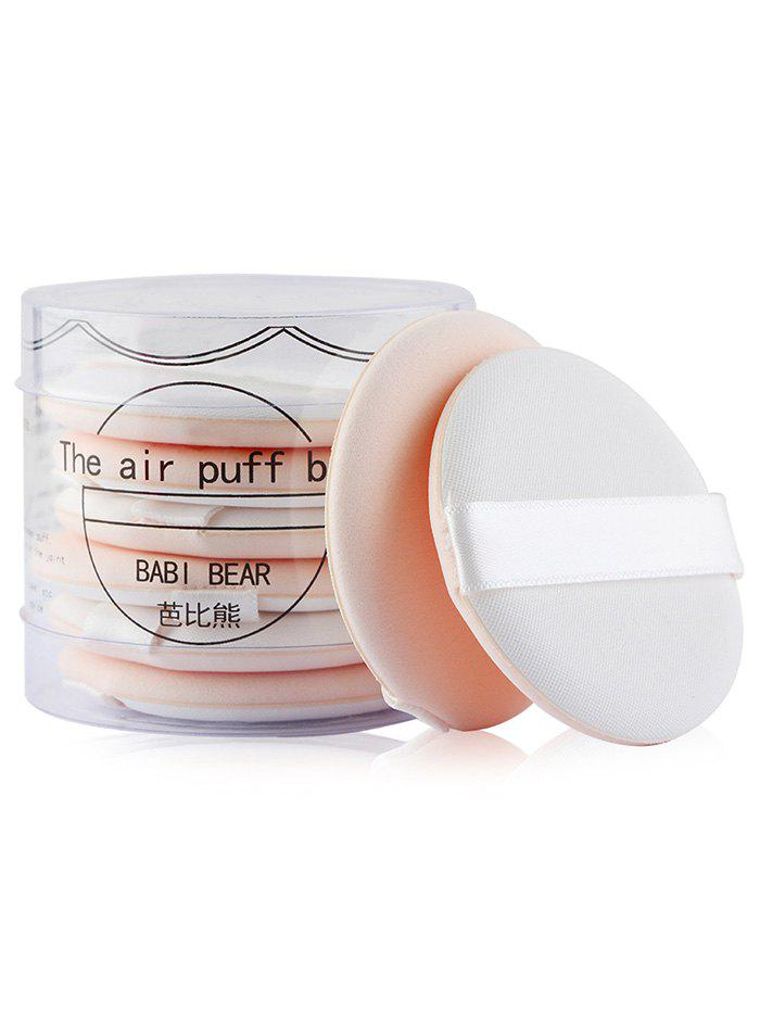 8Pcs Portable Multipurpose Powder Puff with Box - COMPLEXION