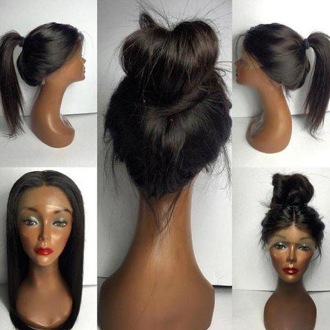 Perruque cheveux humain long