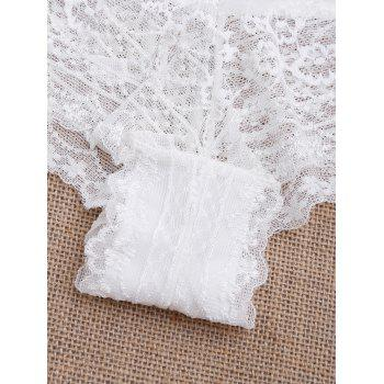 Lace See Through Sexy Panties - Blanc L