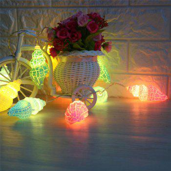 LED Conch Shape String Lights - Coloré