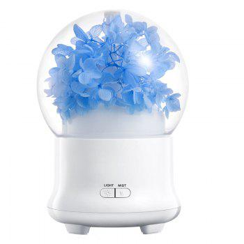 Eternal Flower Aroma Ultrasonic Mist Air Humidifier - LIGHT BLUE LIGHT BLUE