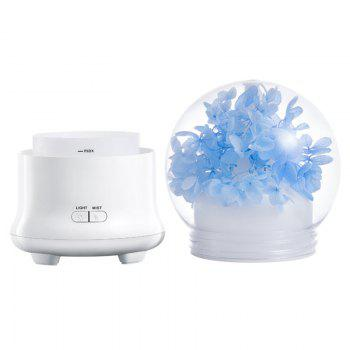 Eternal Flower Aroma Ultrasonic Mist Air Humidifier -  LIGHT BLUE