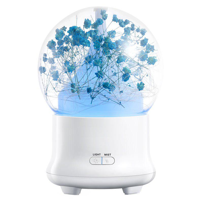Eternal Flower Aroma Ultrasonic Mist Air Humidifier - DEEP BLUE