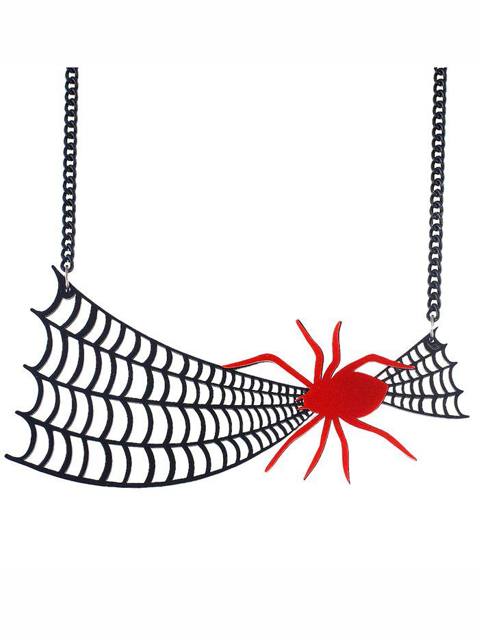 Halloween Spider Web Statement Necklace набор фигурок cut the rope 2 pack 9