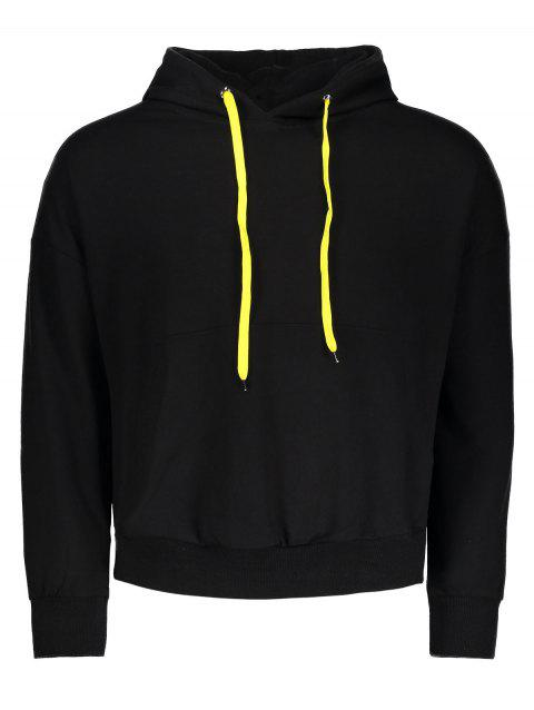 Understar Underism Graphic Mens Hoodie - BLACK XL