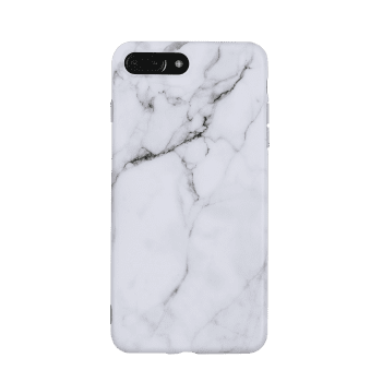 Marble Pattern Soft Phone Case For Iphone - FOR IPHONE 7 PLUS FOR IPHONE 7 PLUS