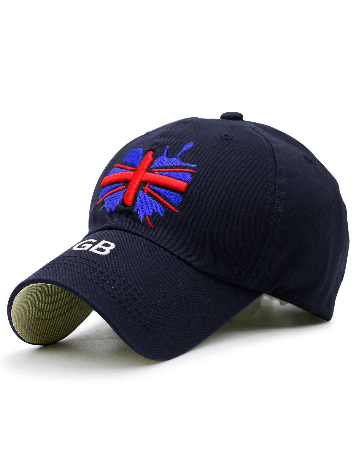 England Flag Embroidered Baseball Hat