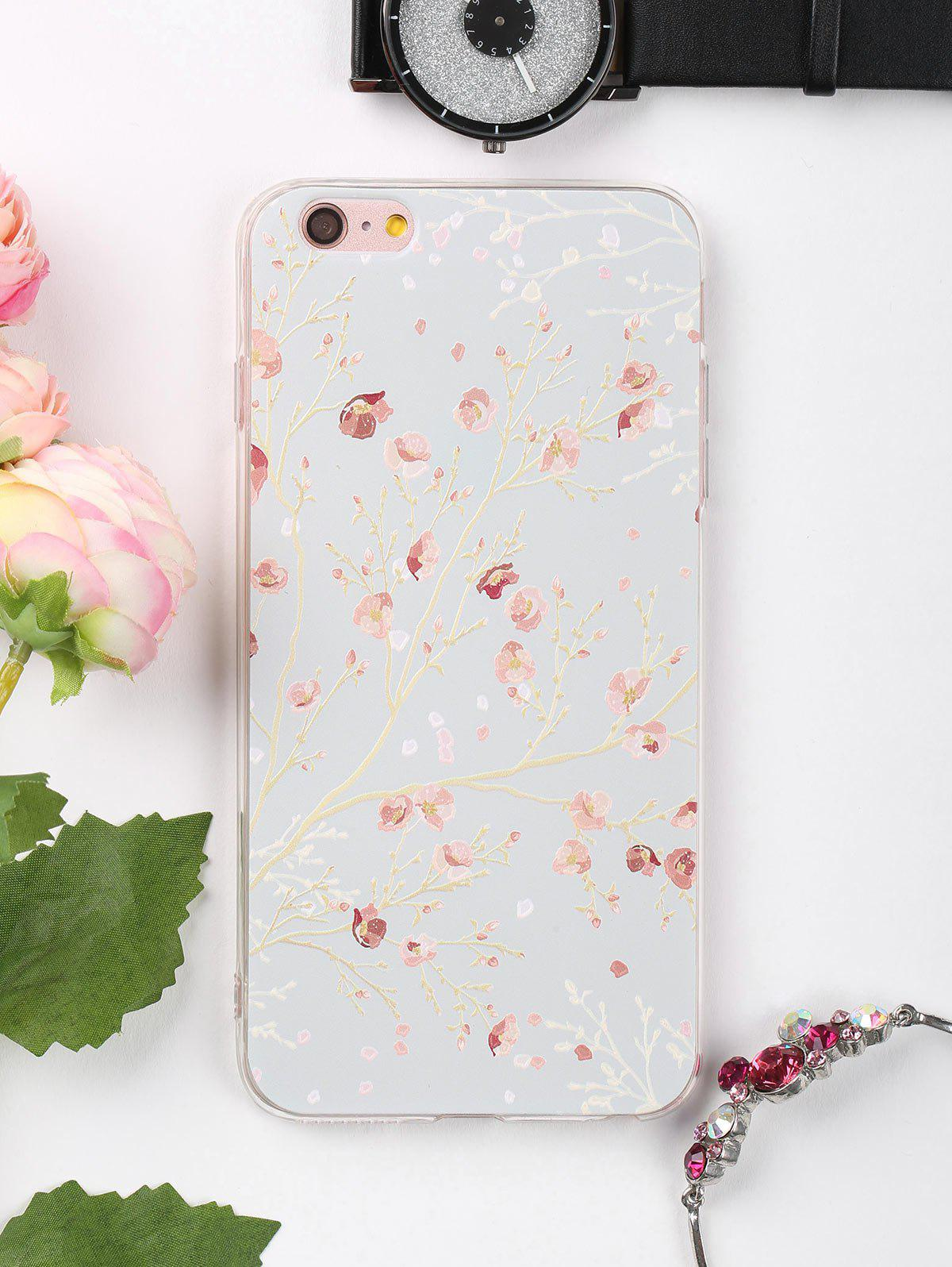 Branch Floral Pattern Protective Phone Case For Iphone - COLORMIX FOR IPHONE 6 PLUS / 6S PLUS
