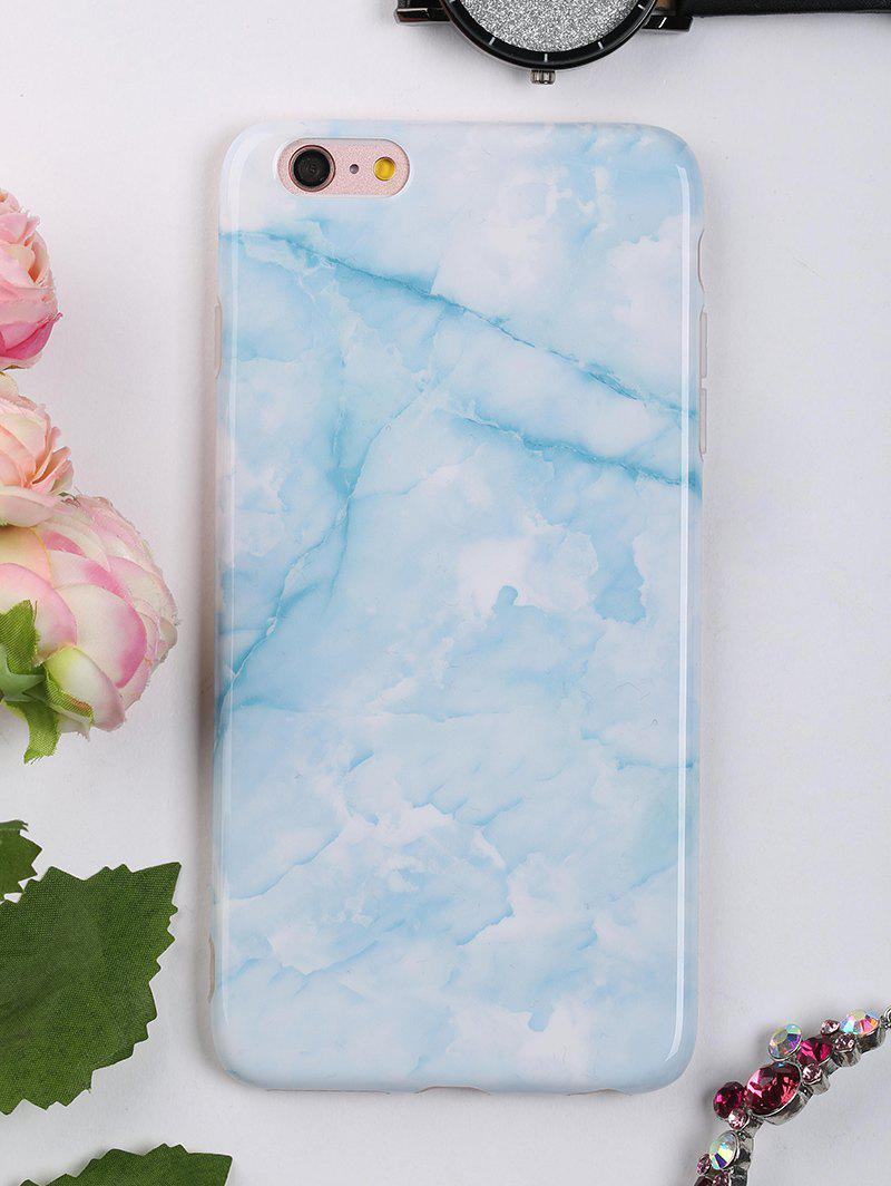 Marble Pattern Protective Mobile Phone Case For Iphone - AZURE FOR IPHONE 6 PLUS / 6S PLUS