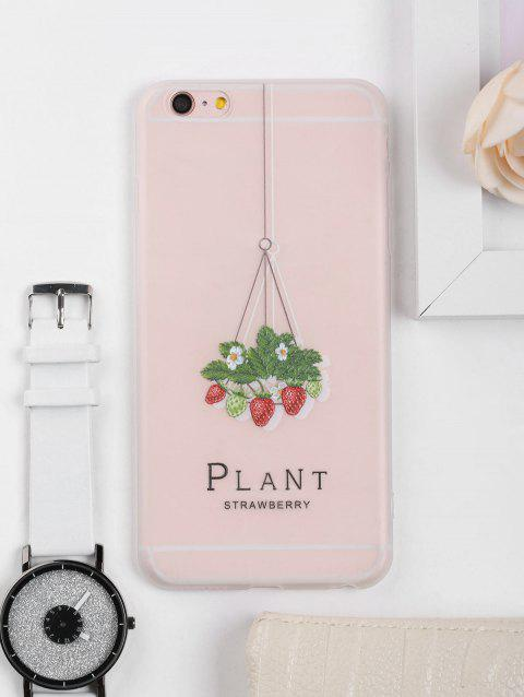 Strawberry Pattern Soft Phone Case For Iphone
