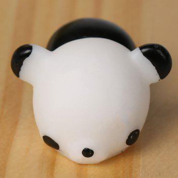 3Pcs Panda Squishy Stress Relief Squeeze Toys -  BLACK WHITE