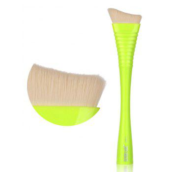 1 Piece Makeup Irregular Blush Brush - YELLOW / GREEN