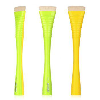 1 Piece Makeup Blush Brush - YELLOW + GREEN YELLOW / GREEN
