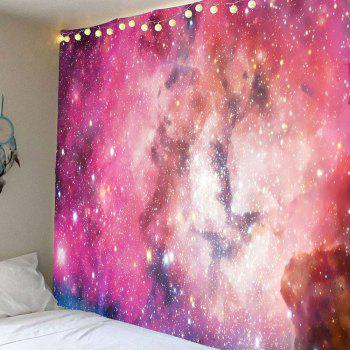 Colorful Galaxy Pattern Waterproof Wall Decor Tapestry - COLORFUL COLORFUL