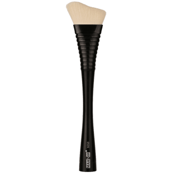 1 Piece Makeup Irregular Fluffy Blush Brush -  BLACK