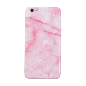 Marble Pattern Mobile Phone Cover For Iphone - PINK FOR IPHONE 6 PLUS / 6S PLUS
