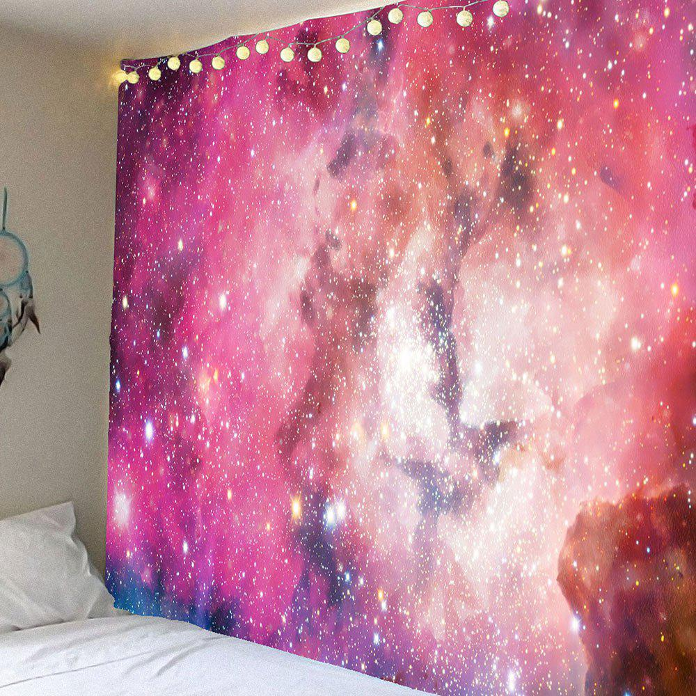 Colorful Galaxy Pattern Waterproof Wall Decor Tapestry - COLORFUL W71 INCH * L71 INCH