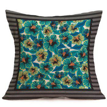 Home Decor Tiny Flowers Pattern Pillow Case - W18 INCH * L18 INCH W18 INCH * L18 INCH