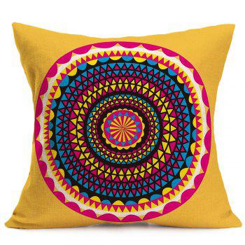 Linen Bohemia Printed Throw Pillow Case - W18 INCH * L18 INCH W18 INCH * L18 INCH