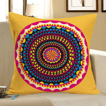 Linen Bohemia Printed Throw Pillow Case - COLORFUL W18 INCH * L18 INCH