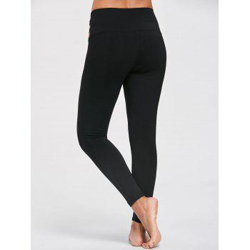Leggings coulissants - Noir L