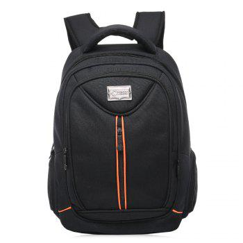 Top Handle Laptop Multifunctional Backpack - BLACK VERTICAL