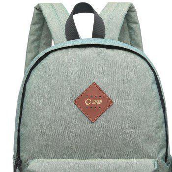 3 Pieces Backpack Set - PALE GREEN PALE GREEN
