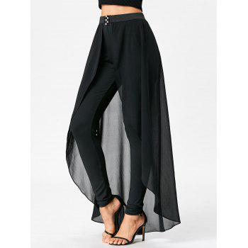 High Waist Slimming Pants with Skirt