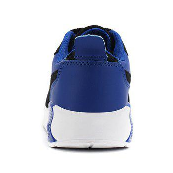 Casual Mesh Breathable Jogging Athletic Sneakers - BLUE 42