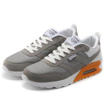 Casual Mesh Breathable Jogging Athletic Sneakers - GRAY 40
