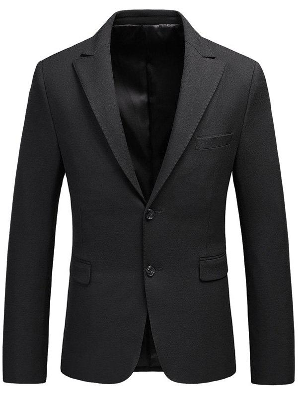 Single Breasted Lapel Flap Pocket Business Blazer single breasted lapel flap pocket business blazer