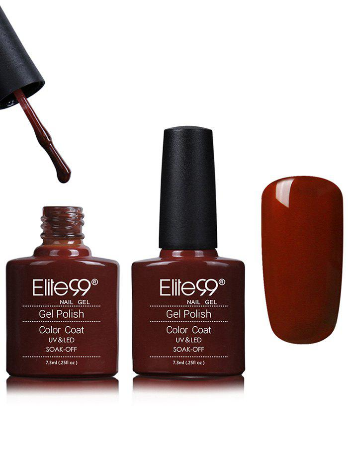 Waterproof Kit Red Shellac Gel Nail Polish -