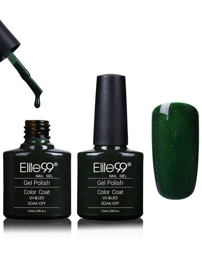 Elite99 Blues and Greens Soak Off Gelé à la gousse Shell -