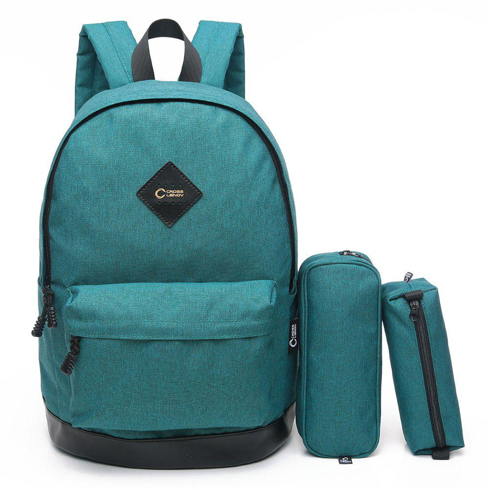 3 Pieces Backpack Set - COASTAL VERTICAL