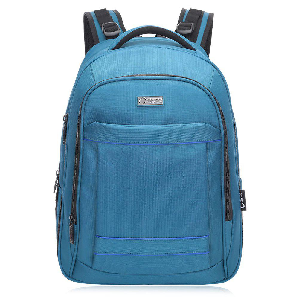 Multifunctional Padded Strap Laptop Backpack - BLUE VERTICAL