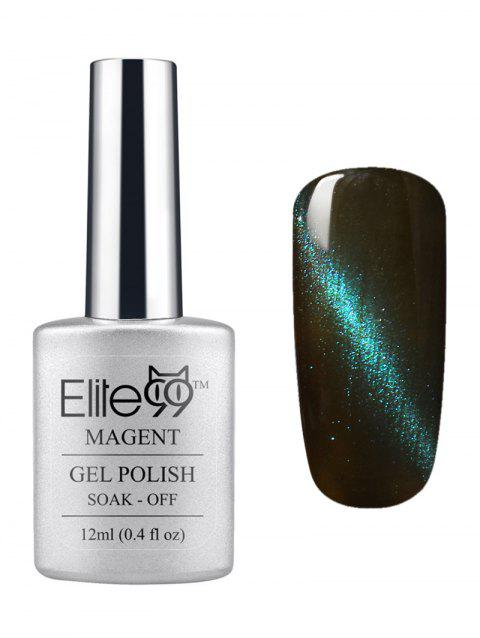 3D Soak Off UV LED Green Series Magnetic Cat Eye Elite99 Gel Nail Polish - 10