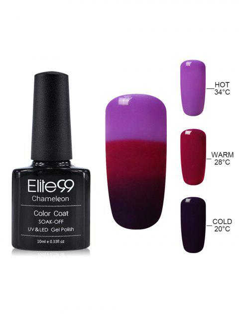 10ML Elite99 Chameleon Temperature Color Changing Gel Nail Polish - 25