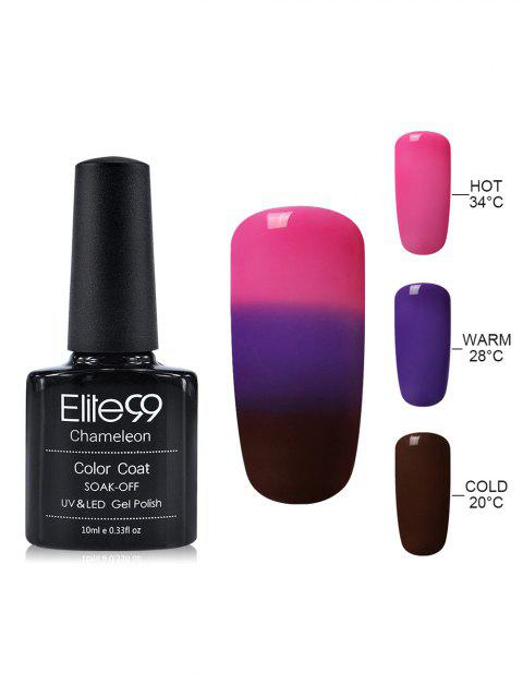 10ML Elite99 Chameleon Temperature Color Changing Gel Nail Polish - 06