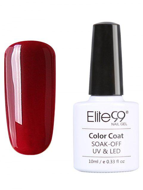 10 ml Elite99 UV LED Vernis à Ongle Gel Faire Tremper Série Rouge - 09