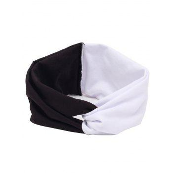 Multiuse Elastic Hair Band - WHITE AND BLACK WHITE/BLACK