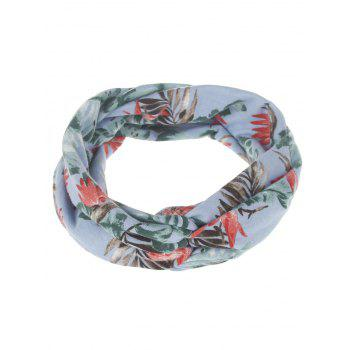 Leaf Printed Multiuse Elastic Hair Band - #01
