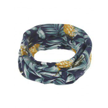 Leaf Printed Multiuse Elastic Hair Band - #03