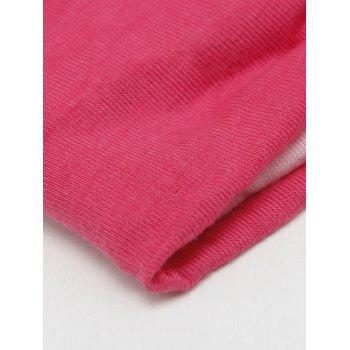 Multiuse Two Tone Elastic Hair Band -  PINK