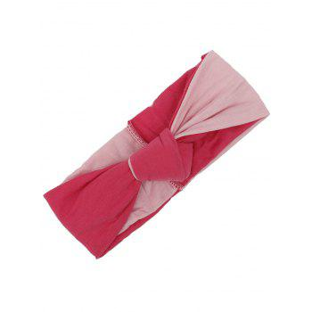 Multiuse Two Tone Elastic Hair Band - PINK PINK