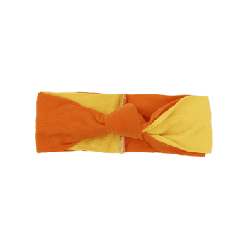 Multiuse Two Tone Elastic Hair Band - ORANGE