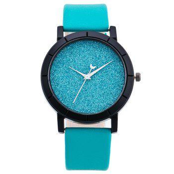 Glitter Powder Face Minimalist Watch - AZURE AZURE