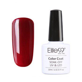 10ml Elite99 Soak Off Red Series Gel Polish UV LED Nail Art