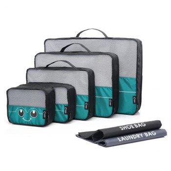 Mesh Insert 5 Pieces Travel Storage Bags and 2 Drawstring Bags - OASIS OASIS