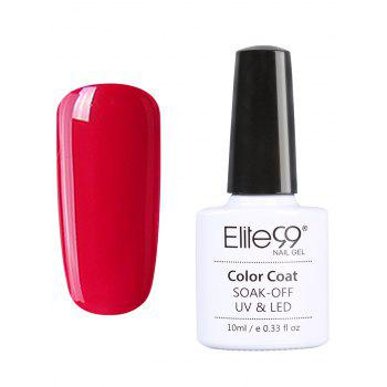10ml Elite99 Soak Off Red Series Gel Polish UV LED Nail Art - #03