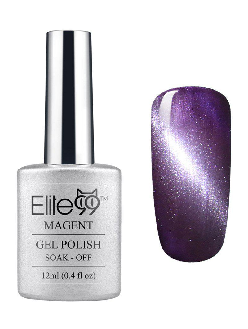 3D Soak Off UV LED Purple Series Magnetic Cat Eye Elite99 Gel Nail Polish cnhids in 24w professional 9c uv led lamp of resurrection nail tools and portable package five 10 ml soaked gel nail polish